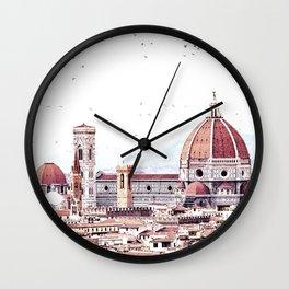 Brunelleschi's masterpiece Wall Clock