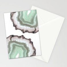 Light Water Agate Stationery Cards