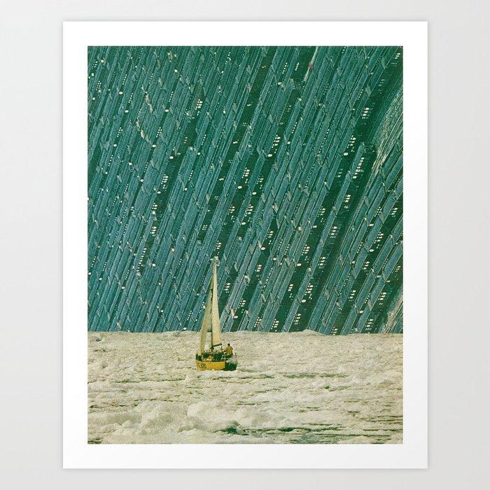 by sea (full version) Art Print