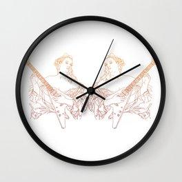 Flying V Renaissance Wall Clock