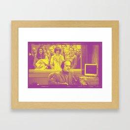 Goodnight From Seattle Framed Art Print