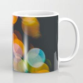 Defocused christmas lights Coffee Mug