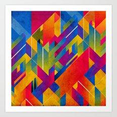 Geometric Play Art Print
