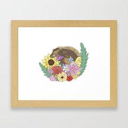 Crested Gecko Framed Art Print