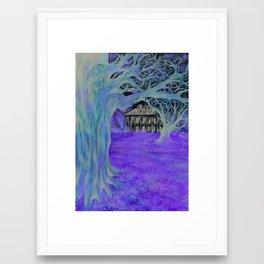Oak Alley  Framed Art Print