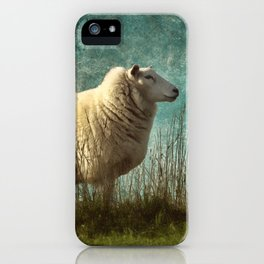 Vintage Sheep iPhone Case