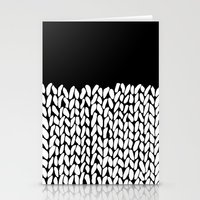 knit Stationery Cards featuring Half Knit by Project M