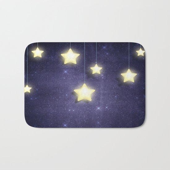 Moon & Stars 02 Bath Mat