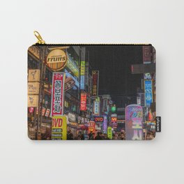 South Korea Photography - Down Town In South Korean City Carry-All Pouch