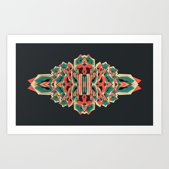 Calaabachti Stripes Art Print