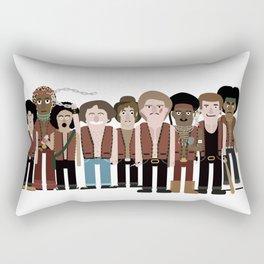 Warriors Rectangular Pillow