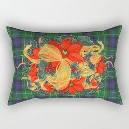 It's A Plaid Plaid Christmas ! Rectangular Pillow