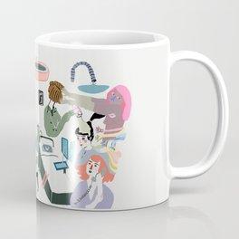messy mess Coffee Mug