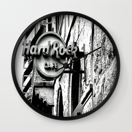 Hard-Rock-Cafe Wall Clock