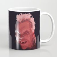 david fleck Mugs featuring David by Jehzbell Black