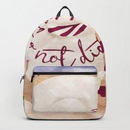 Do Not Disturb Beach Girl Backpack