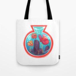 Fishbowl budies Tote Bag