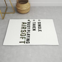 Single Relationship Airsoft Airsoft BBs Gift Rug