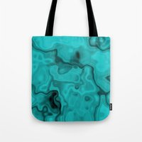 turquoise Tote Bags featuring Turquoise by Lyle Hatch