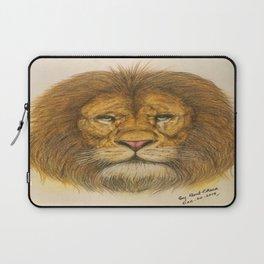 Regal Lion Drawing Laptop Sleeve