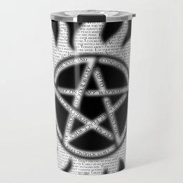 Carry On Supernatural Pentacle Travel Mug