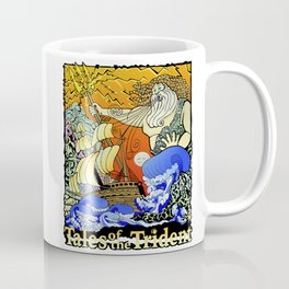 Tales of the Trident:Poseidon with Title Coffee Mug