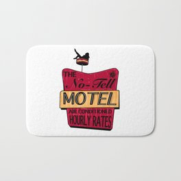 No-Tell Motel Bath Mat
