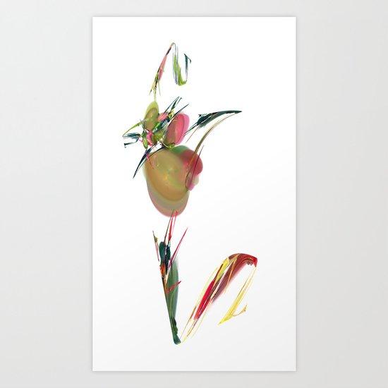 V is Vegan Art Print