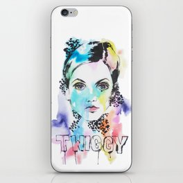 I heart Twiggy iPhone Skin