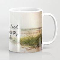 salt water Mugs featuring Salt by Terri Ellis