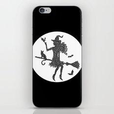 Halloween Witch  iPhone & iPod Skin