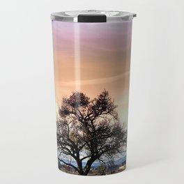 Old tree and amazing cloudy sky | landscape photography Travel Mug