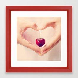 Cherry Love!  Framed Art Print
