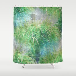 Nature's Miracles Abstract Shower Curtain
