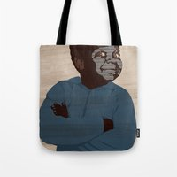 arnold Tote Bags featuring Arnold by alkoipa