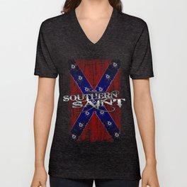 Southern Saint Unisex V-Neck