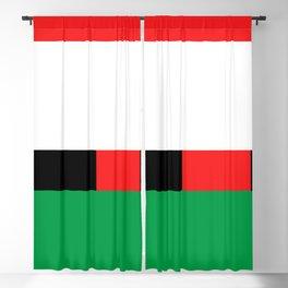 Xmas Color Santa Claus Blackout Curtain