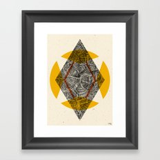 - believe in you - Framed Art Print