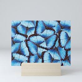 Blue Morpho Butterfly Mini Art Print