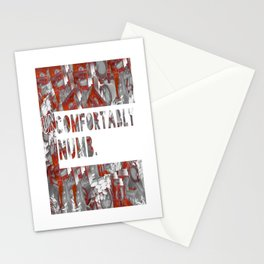 UNCOMFORTABLY NUMB Stationery Cards