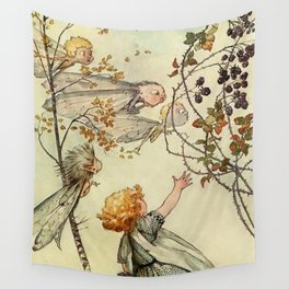 """""""Bother the Wind"""" by Duncan Carse Wall Tapestry"""