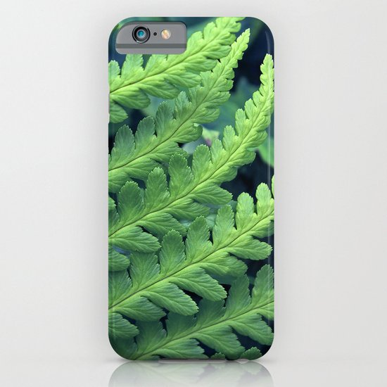 green fern abstract VII iPhone & iPod Case