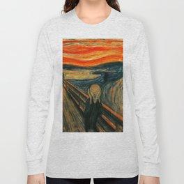 The Scream Edvard Munch Long Sleeve T-shirt