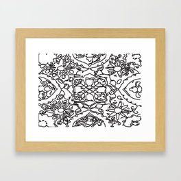 Isola Signature Print Monocrome  Framed Art Print
