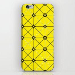 square patterns iPhone Skin