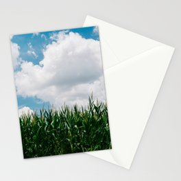 Rural Corn Fields III Stationery Cards