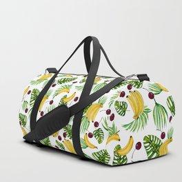 bananas and cherries - fruit pattern no2 Duffle Bag