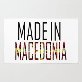 Made In Macedonia Rug