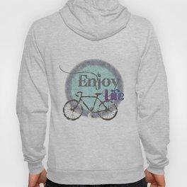 enjoy life / old bike / retro  Hoody