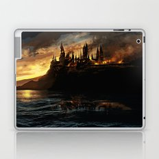 Harry Potter - Hogwart's Burning Laptop & iPad Skin